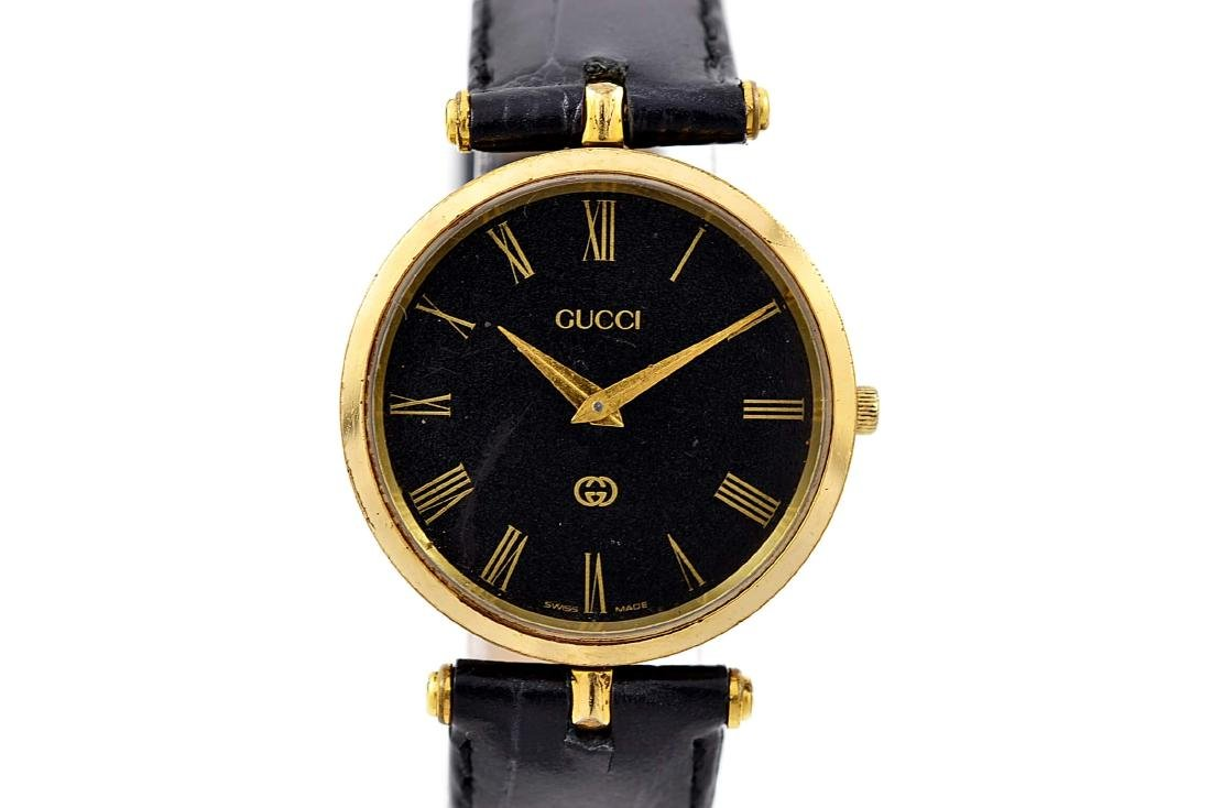 Gucci 2000M Gold Plated Midsize Quartz Watch