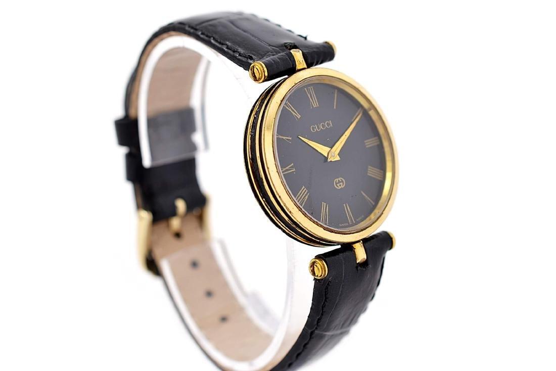 Gucci 2000M Gold Plated Midsize Quartz Watch - 2