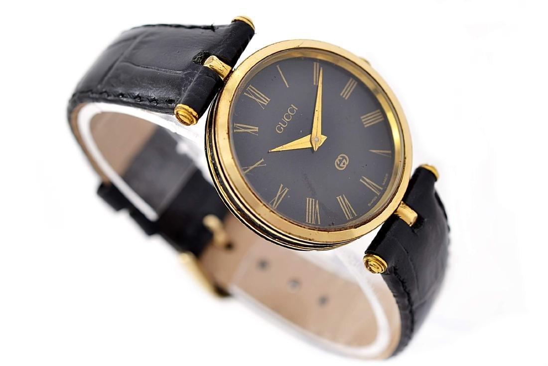 Gucci 2000M Gold Plated Midsize Quartz Watch - 3