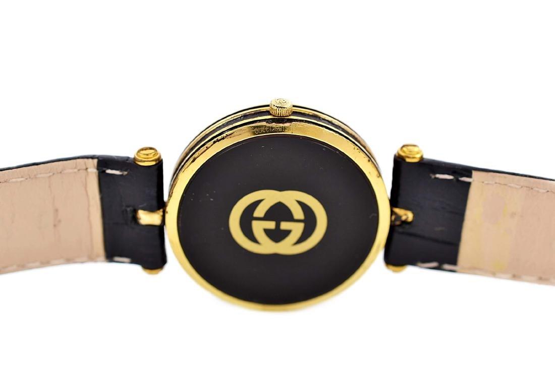Gucci 2000M Gold Plated Midsize Quartz Watch - 4