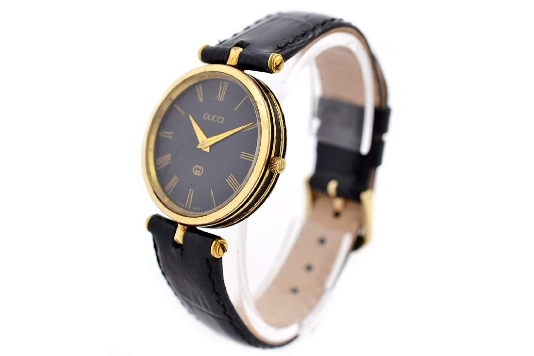 Gucci 2000M Gold Plated Midsize Quartz Watch - 7