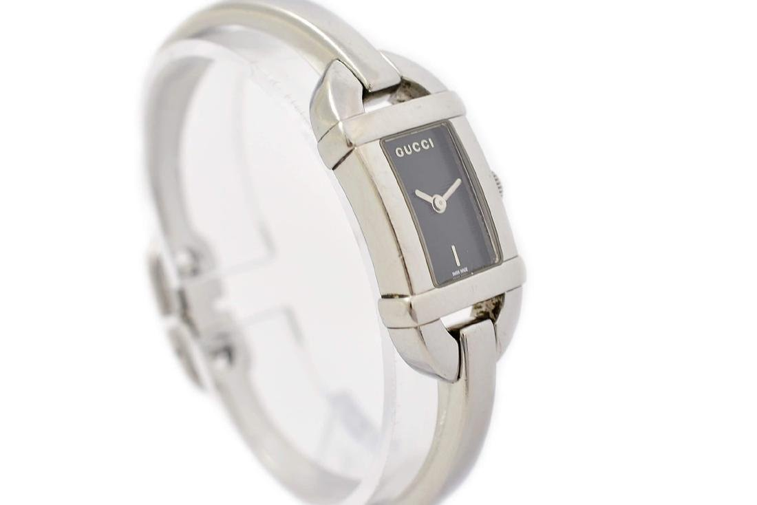 Gucci 6800L Stainless Steel Bangle Quartz Ladies Watch - 2