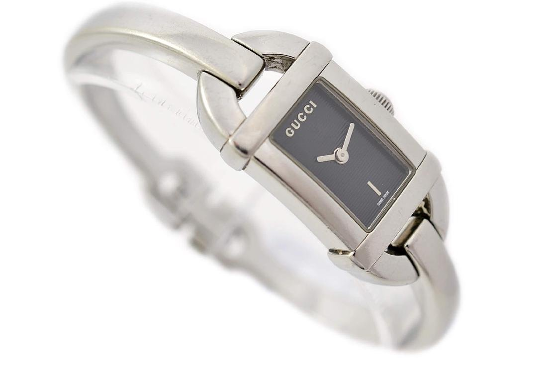 Gucci 6800L Stainless Steel Bangle Quartz Ladies Watch - 3