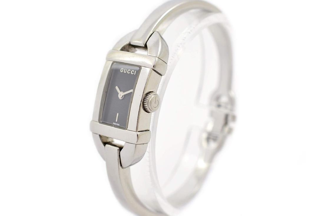 Gucci 6800L Stainless Steel Bangle Quartz Ladies Watch - 8