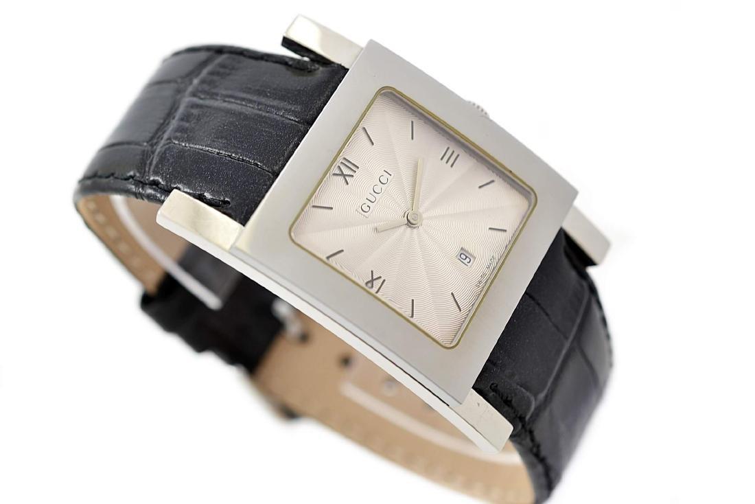 Vintage Gucci 7900M Stainless Steel Quartz Mens Watch - 3