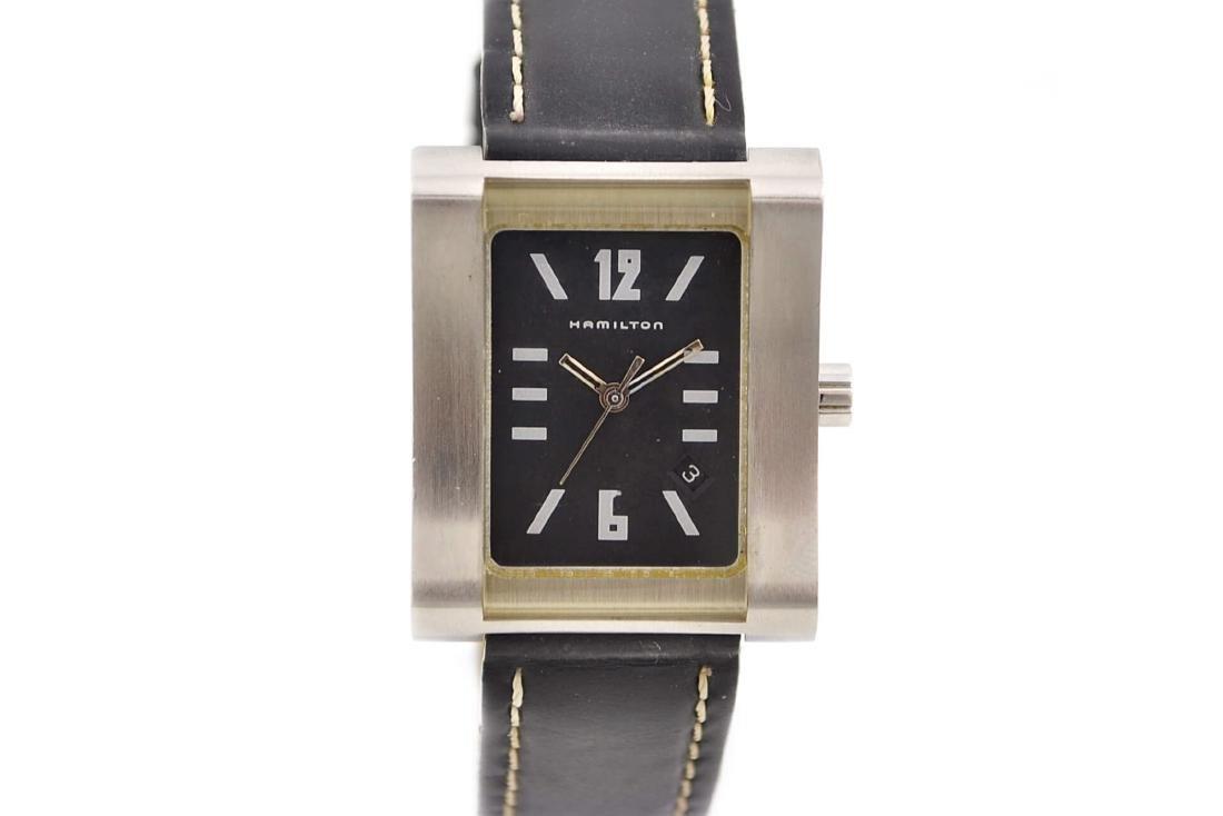 Hamilton 000032 Quartz Stainless Steel Midsize Watch