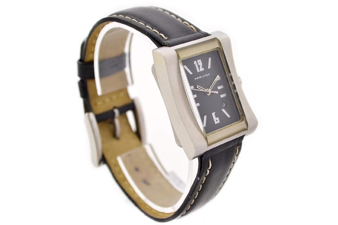 Hamilton 000032 Quartz Stainless Steel Midsize Watch - 2