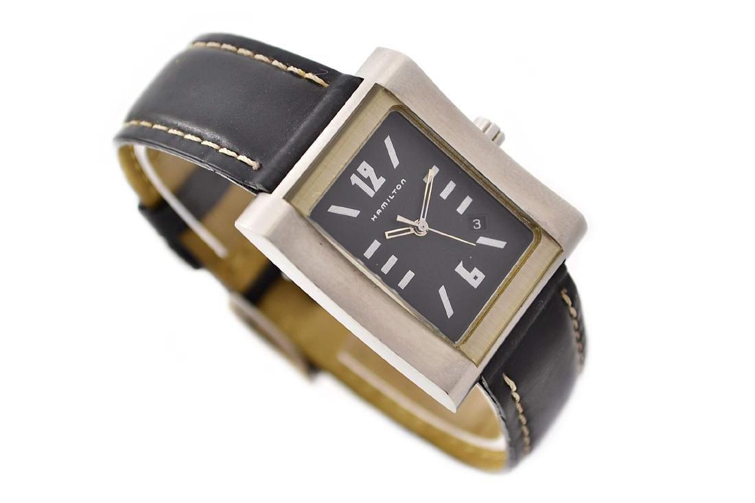Hamilton 000032 Quartz Stainless Steel Midsize Watch - 3