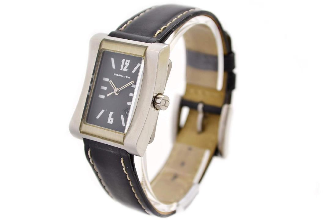 Hamilton 000032 Quartz Stainless Steel Midsize Watch - 7