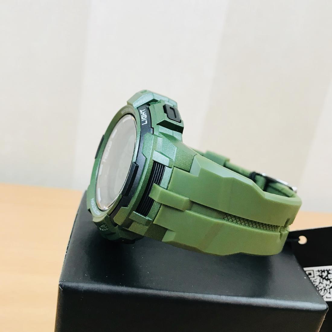 HEAD Super G Green Multifunctional Watch - 2