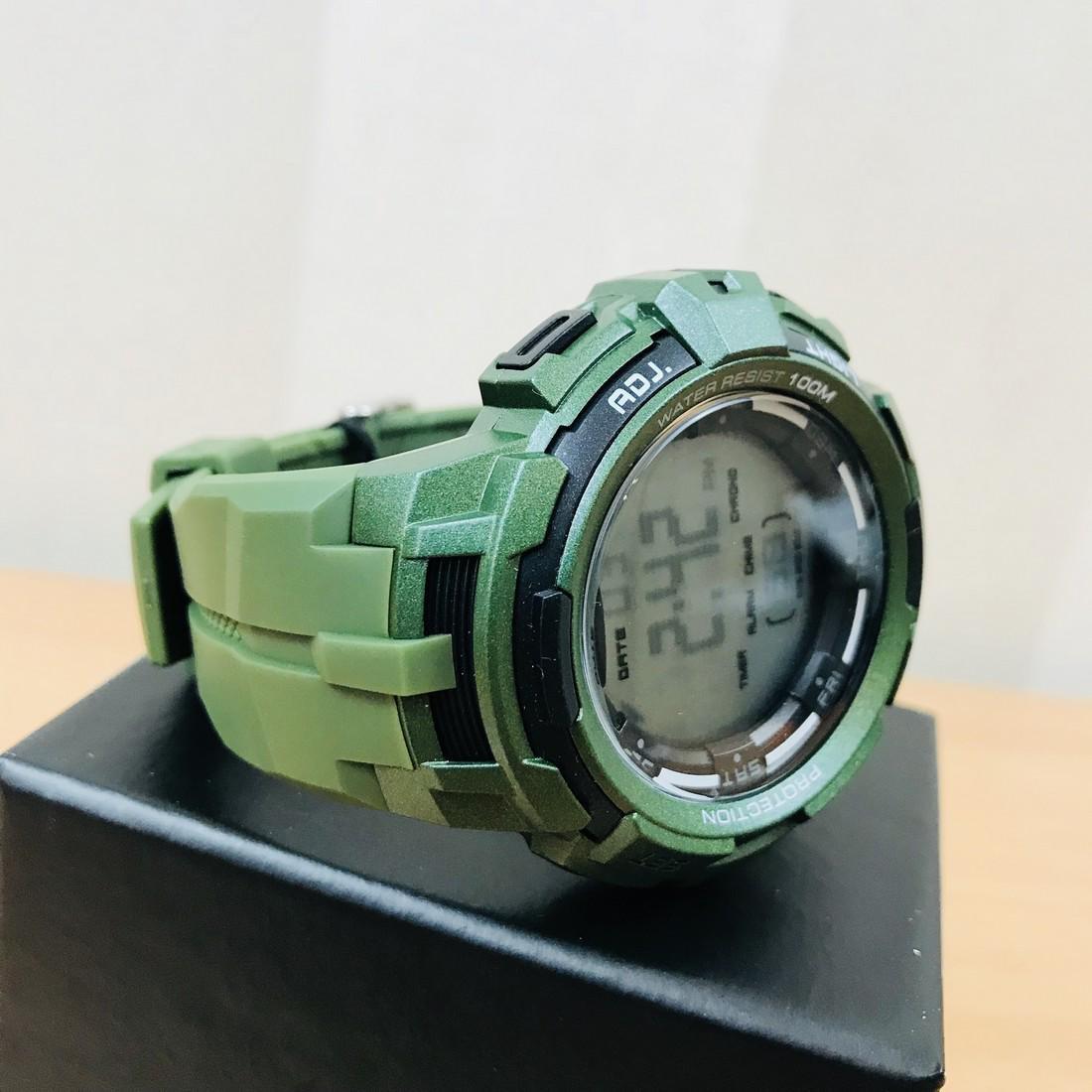 HEAD Super G Green Multifunctional Watch - 5