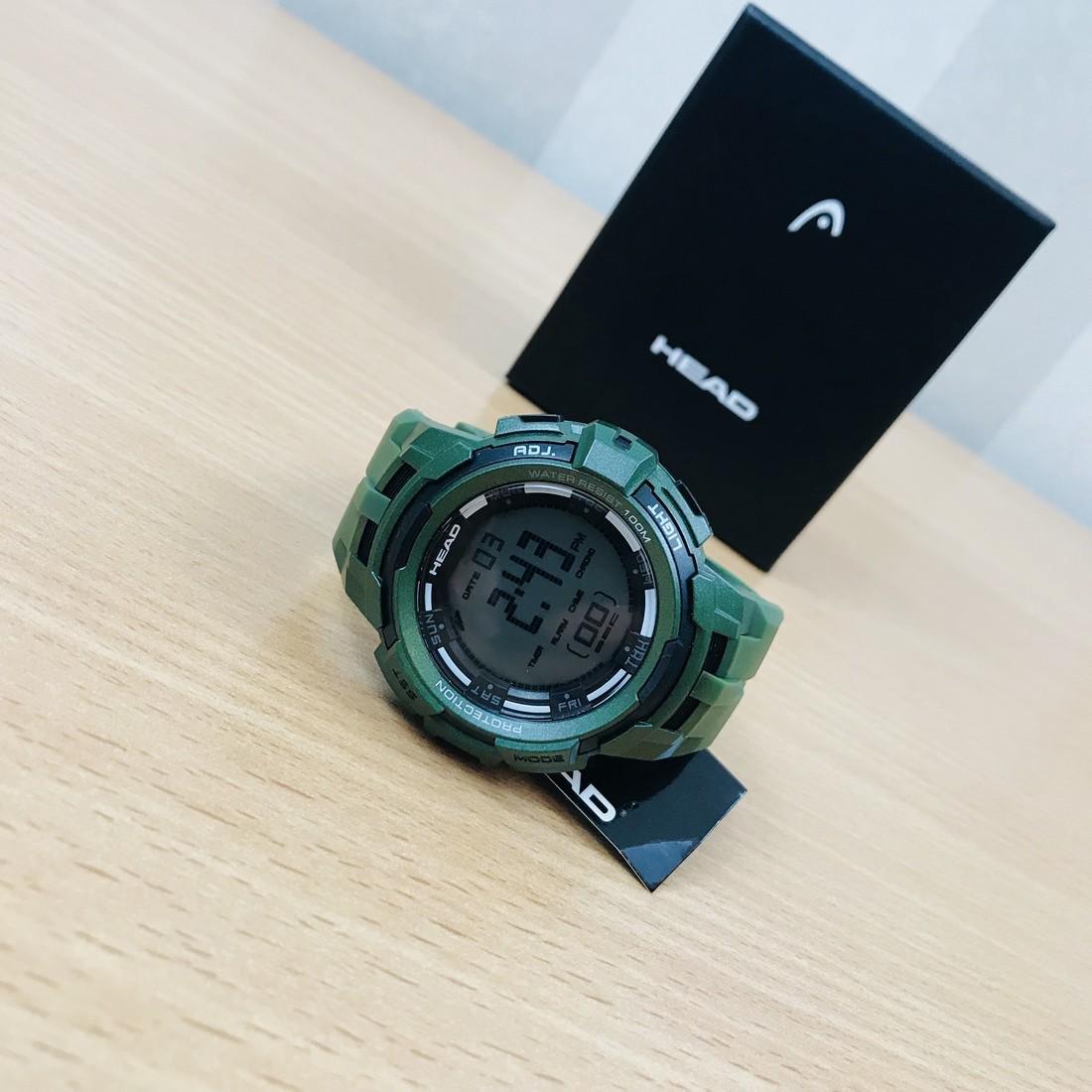 HEAD Super G Green Multifunctional Watch - 7