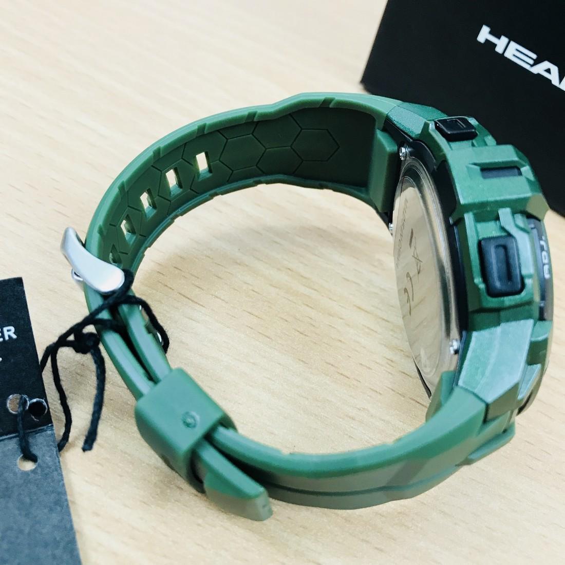 HEAD Super G Green Multifunctional Watch - 9