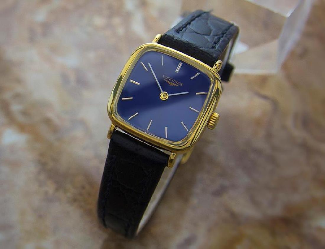 Longines Luxurious Ladies Swiss Made Manual Gold Plated - 2