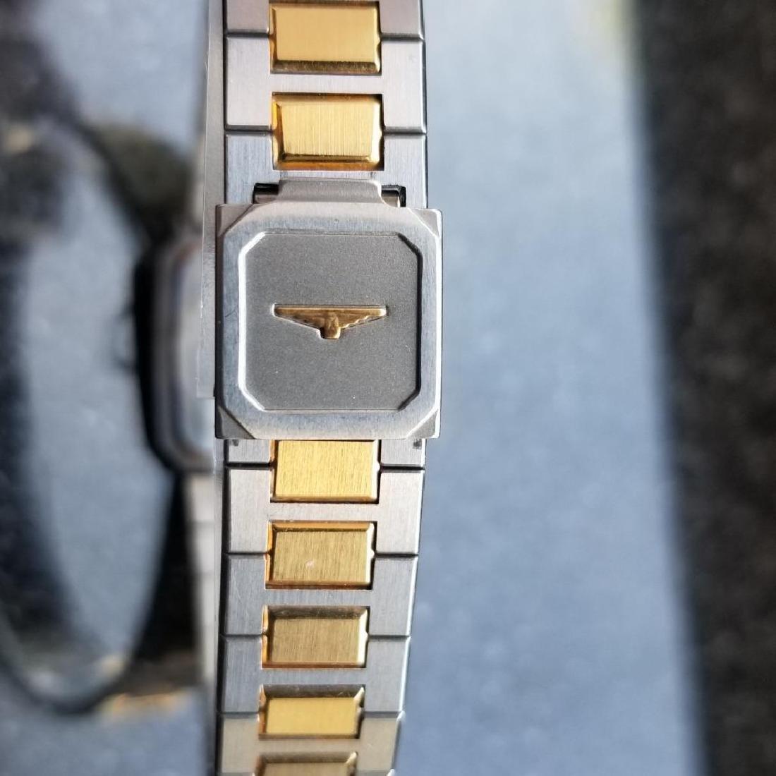 Longines Ladies 1980s Gold Plated Stainless Quartz - 9