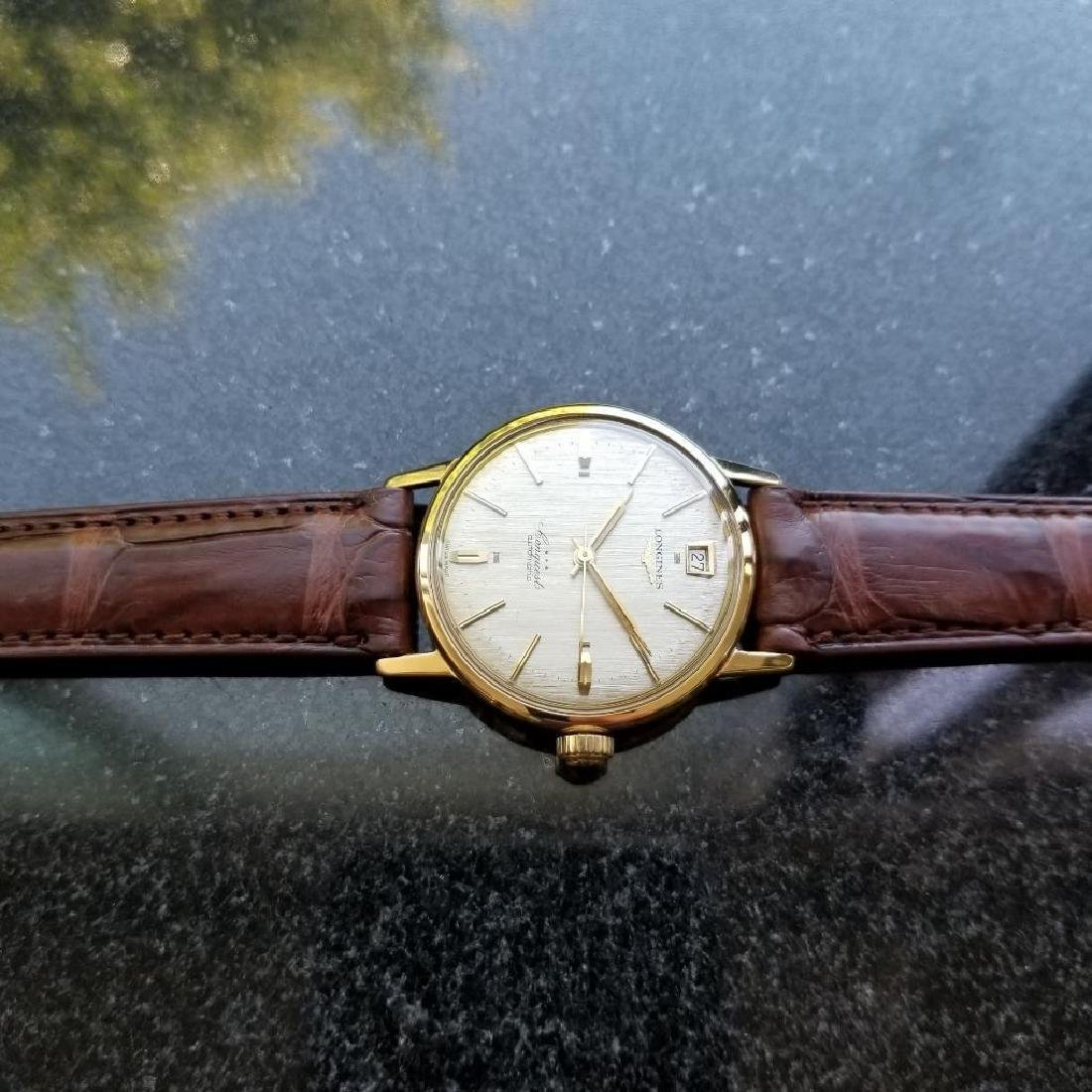 Longines Conquest Automatic Vintage 18k Yel Gold 1960s - 6