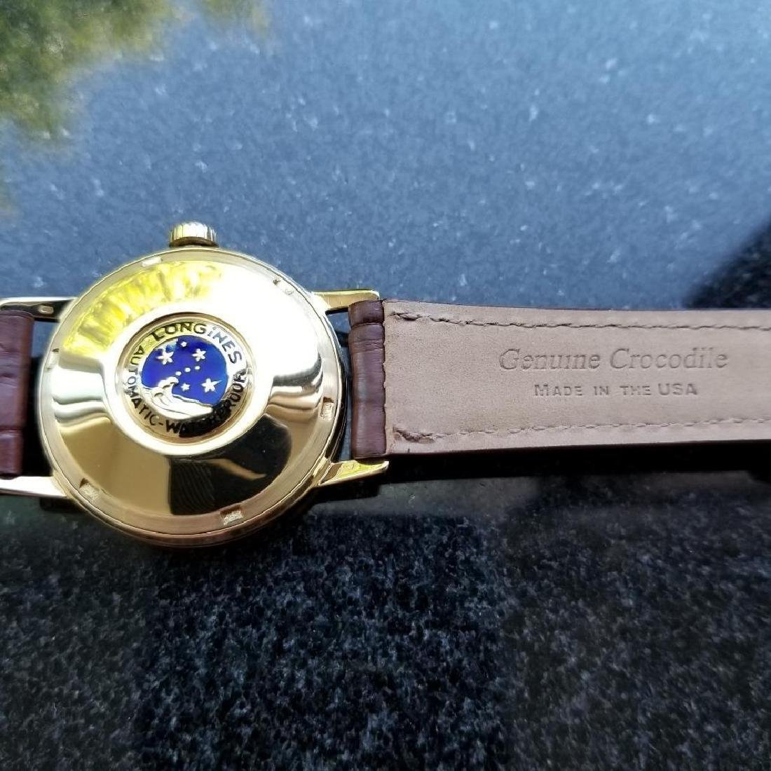 Longines Conquest Automatic Vintage 18k Yel Gold 1960s - 7