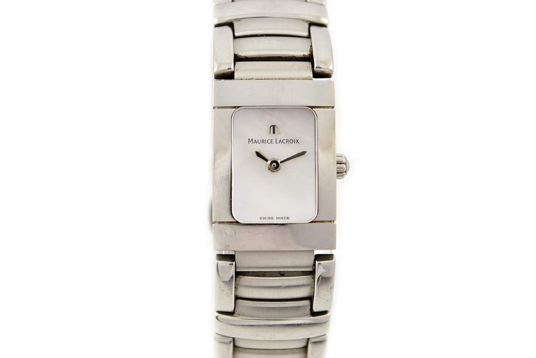 Maurice Lacroix Ladies Miros 32823 Stainless Steel