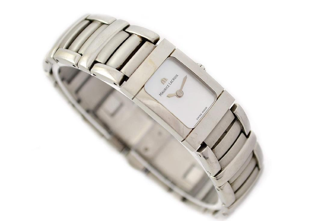 Maurice Lacroix Ladies Miros 32823 Stainless Steel - 3