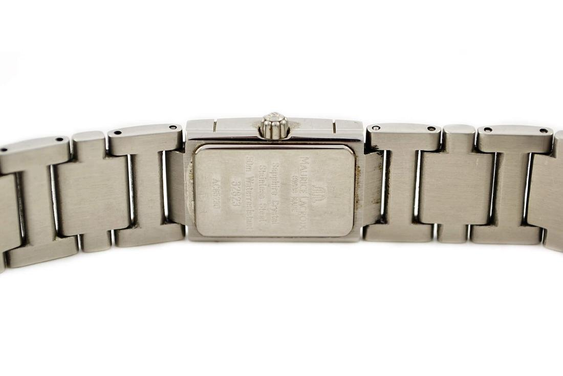 Maurice Lacroix Ladies Miros 32823 Stainless Steel - 4