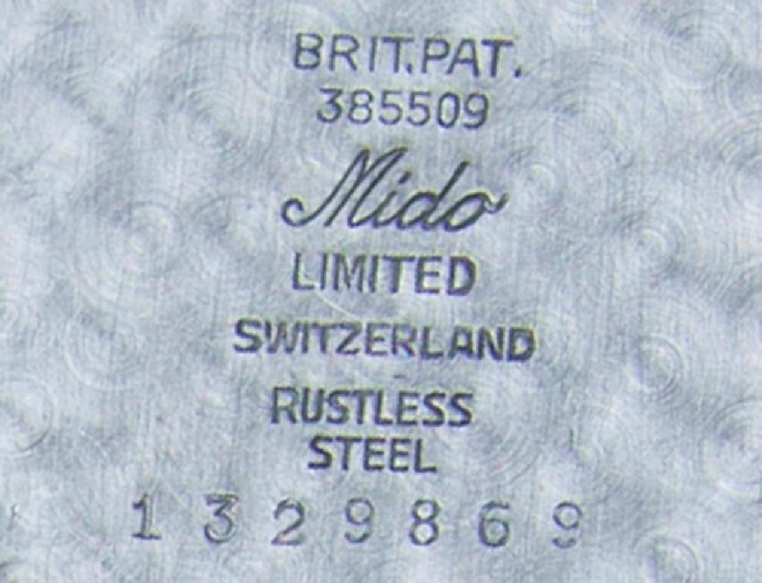 Mido Multifort Extra Super Auto Swiss Made 1950 Mens - 9
