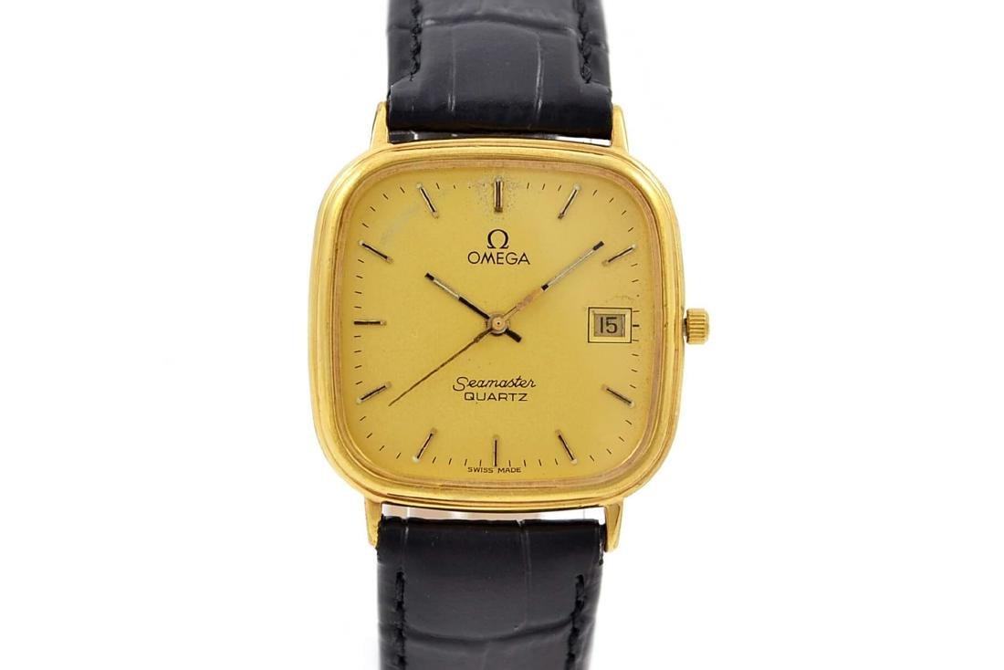 Vintage Omega Seamaster Cal.1430 Gold Plated Quartz