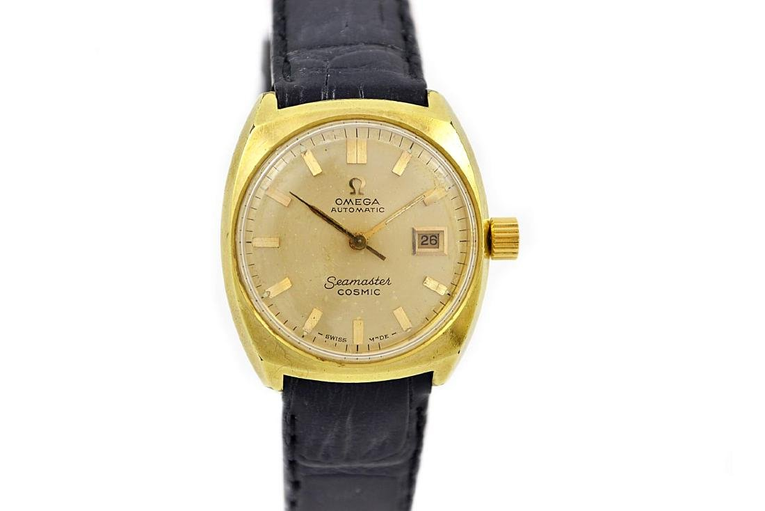 Vintage Omega Seamaster Cosmic Gold Plated Automatic