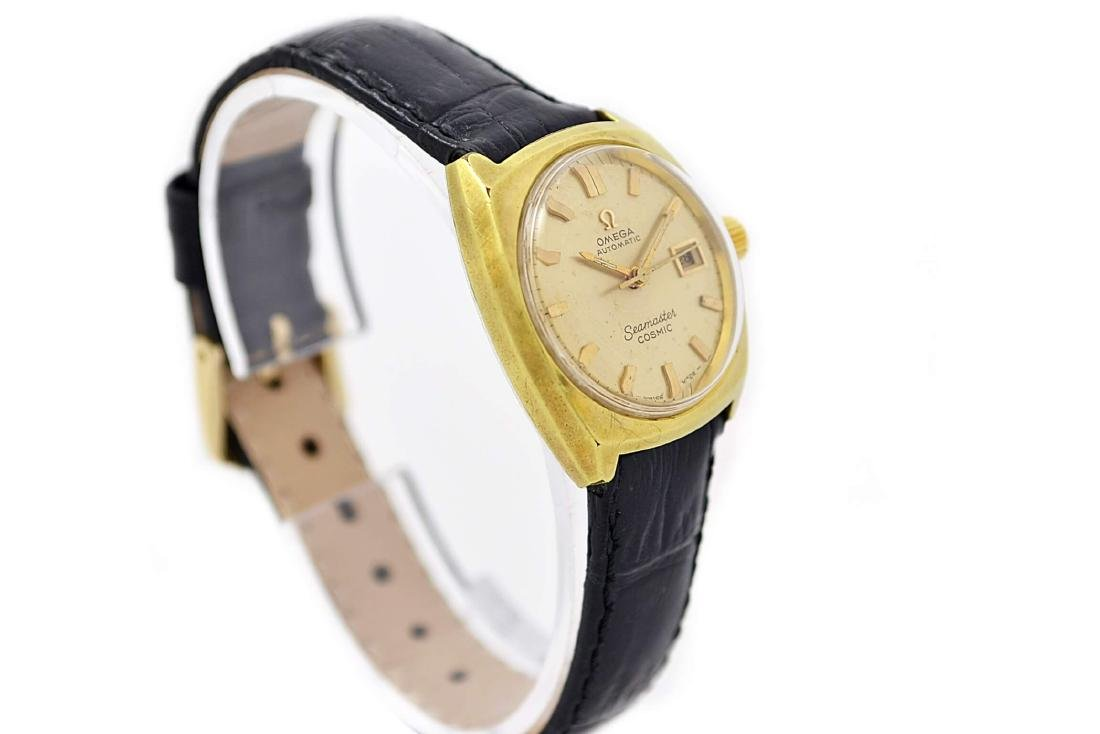 Vintage Omega Seamaster Cosmic Gold Plated Automatic - 2