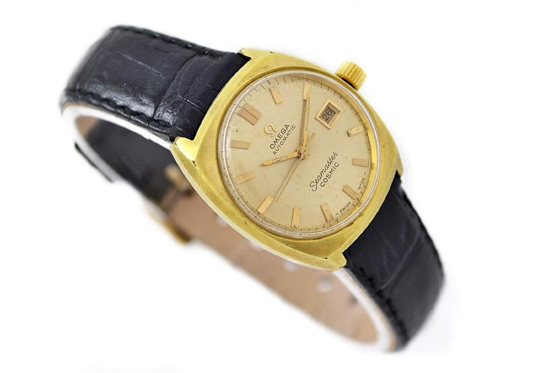 Vintage Omega Seamaster Cosmic Gold Plated Automatic - 3
