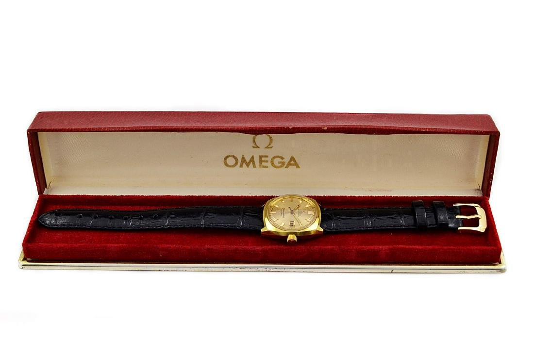 Vintage Omega Seamaster Cosmic Gold Plated Automatic - 4
