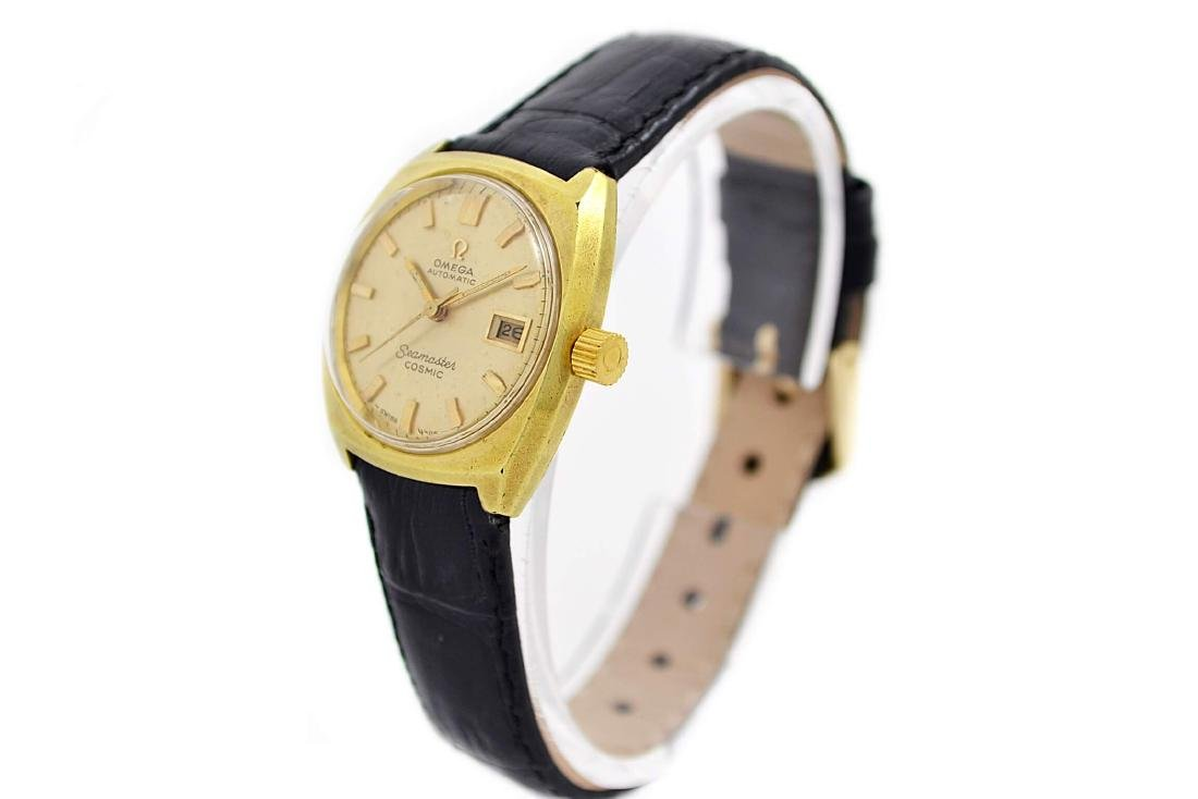 Vintage Omega Seamaster Cosmic Gold Plated Automatic - 9