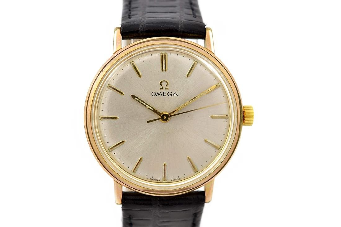 Vintage Omega Geneve Cal.601 Manual Wind Midsize Watch