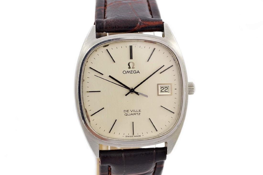 Omega De Ville Cal.1342 Quartz Midsize Dress Watch