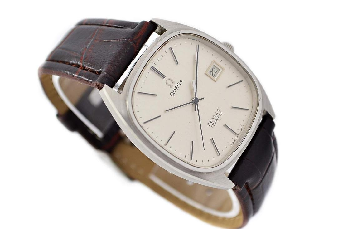 Omega De Ville Cal.1342 Quartz Midsize Dress Watch - 3