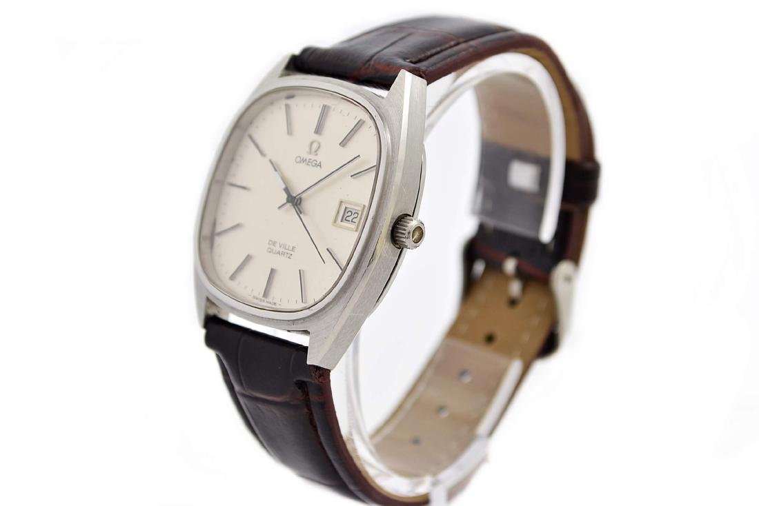 Omega De Ville Cal.1342 Quartz Midsize Dress Watch - 9