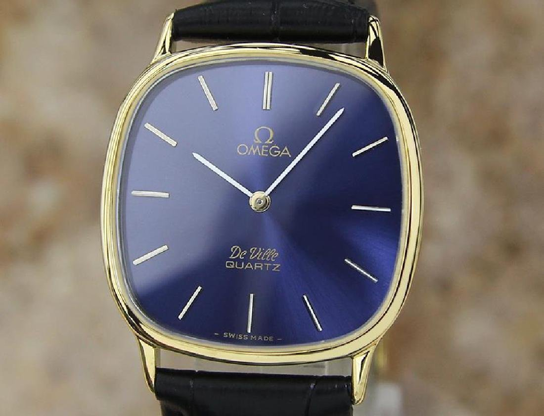 Omega Deville Swiss Made Precision Accuset 1980s Quartz