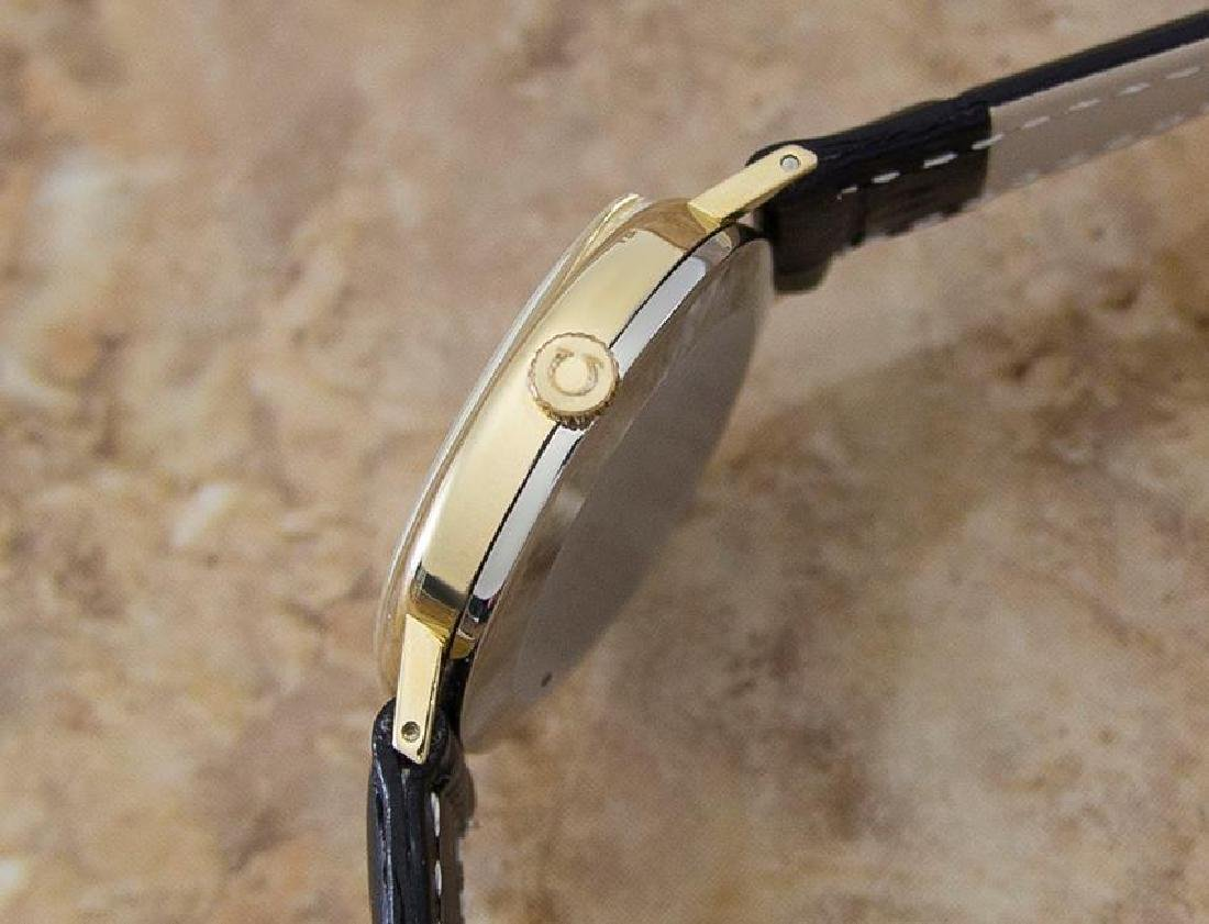 Omega Geneve Swiss Made 1970s Unisex Rare Gold Plated - 3