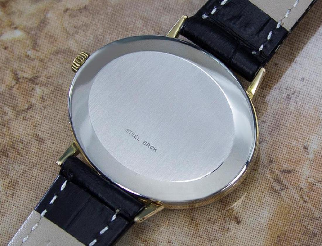 Omega Geneve Swiss Made 1970s Unisex Rare Gold Plated - 7