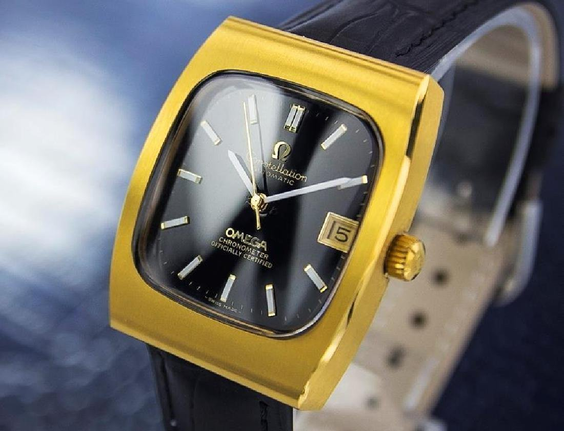 Omega Constellation 1960s Automatic Swiss Made Gold - 2