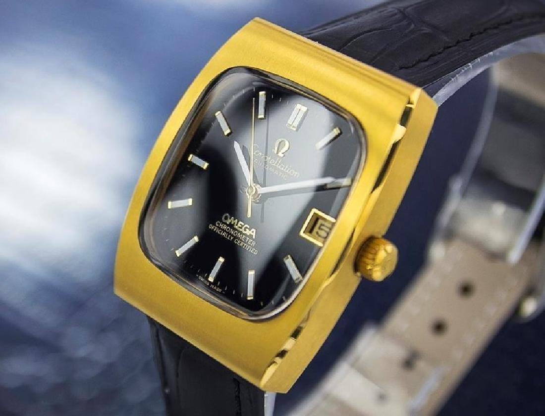 Omega Constellation 1960s Automatic Swiss Made Gold - 4