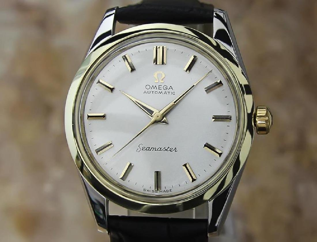 Omega Seamaster Swiss Made Calibre 501 Vintage Gold Cap