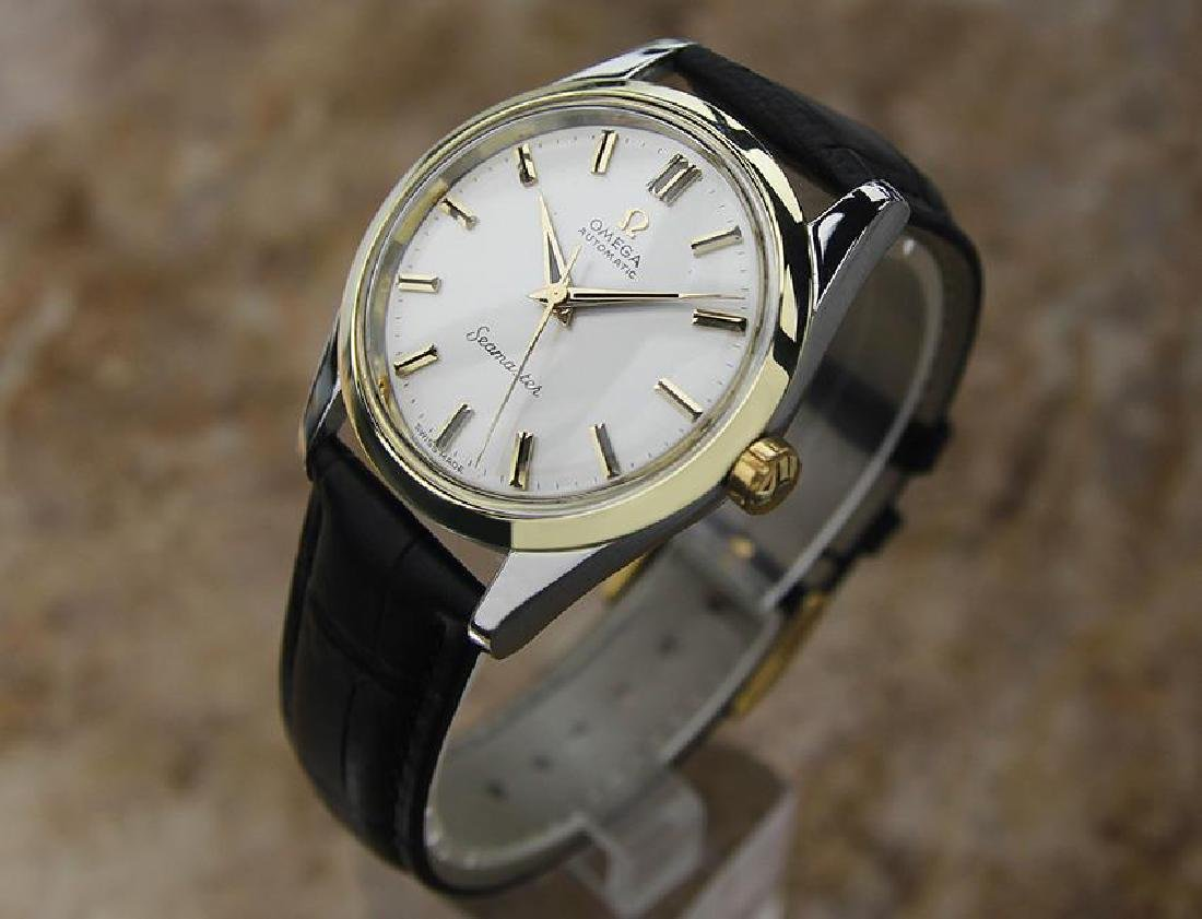 Omega Seamaster Swiss Made Calibre 501 Vintage Gold Cap - 2