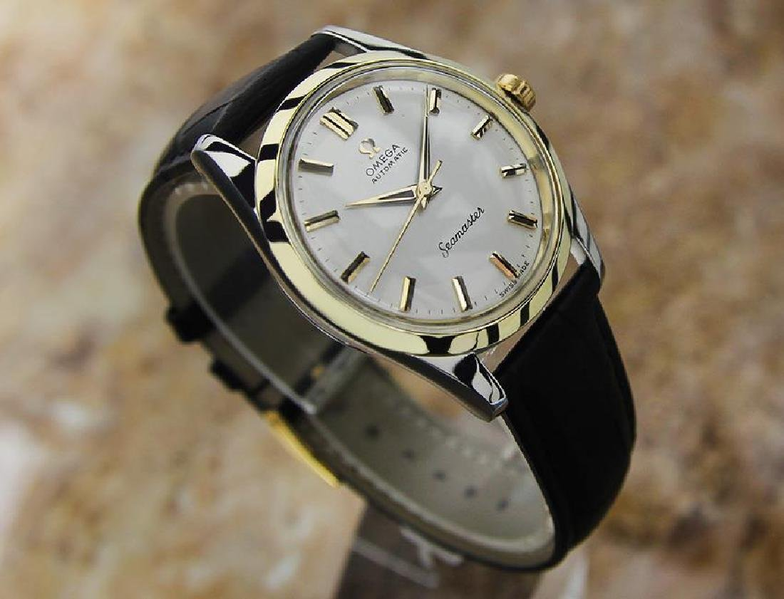Omega Seamaster Swiss Made Calibre 501 Vintage Gold Cap - 3