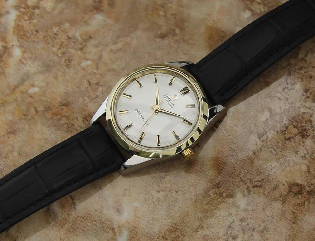 Omega Seamaster Swiss Made Calibre 501 Vintage Gold Cap - 6