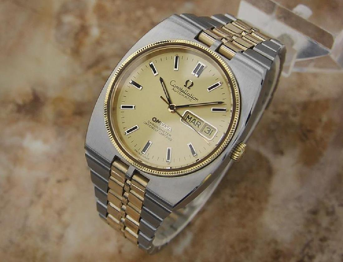 Omega Constellation 36mm Automatic Gold and Steel - 2
