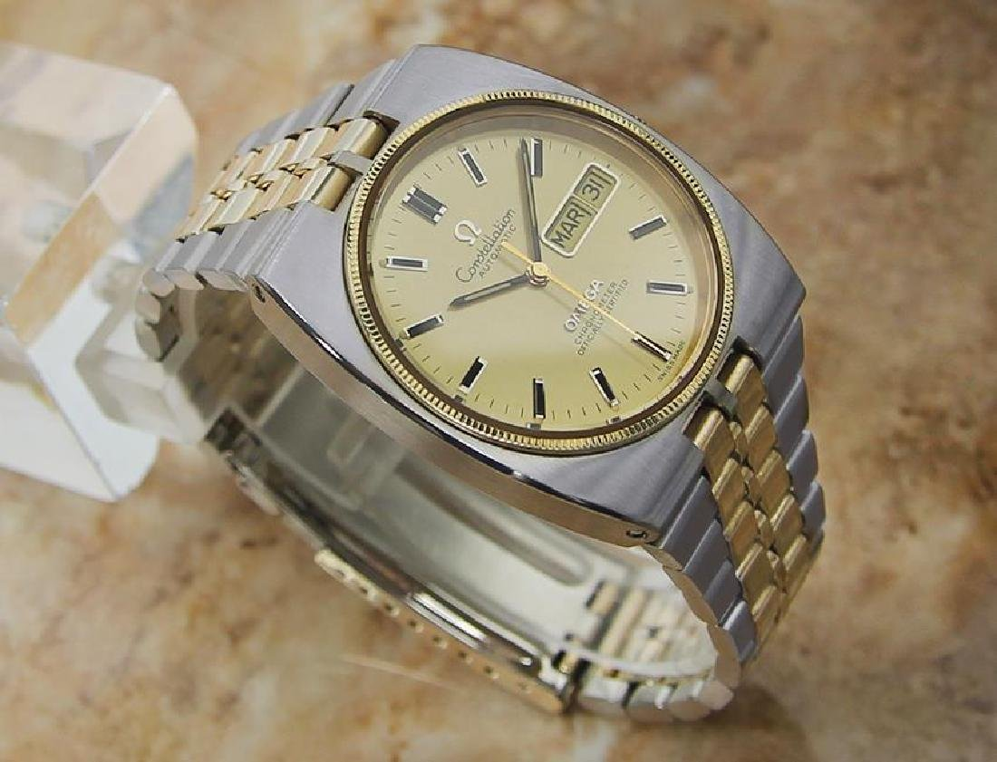 Omega Constellation 36mm Automatic Gold and Steel - 3
