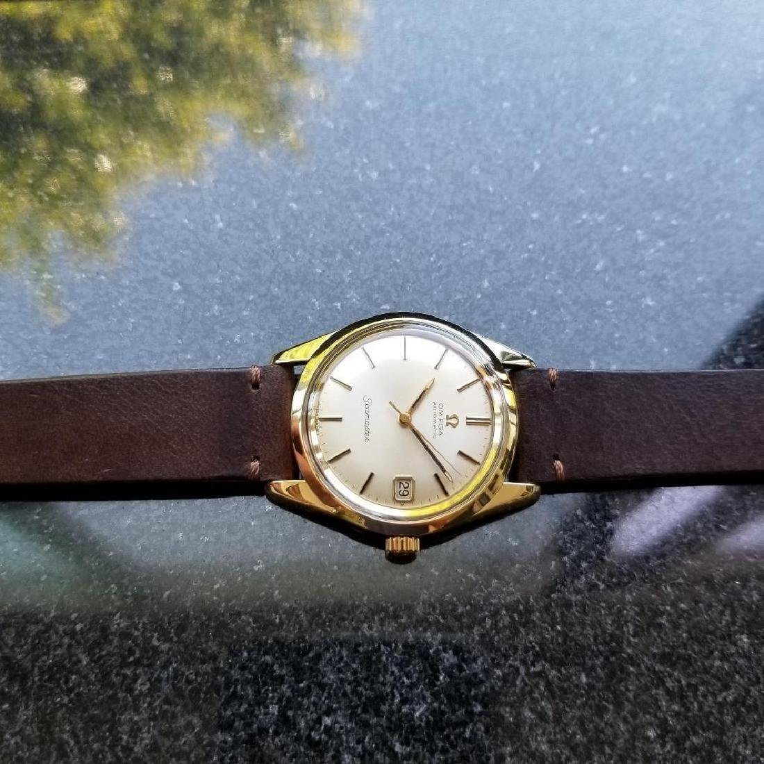 Omega Seamaster Vintage 1970s Gold Capped Swiss 35mm - 5