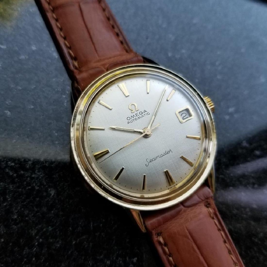 Omega Seamaster Vintage 1960s 14k Gold Filled Swiss - 3
