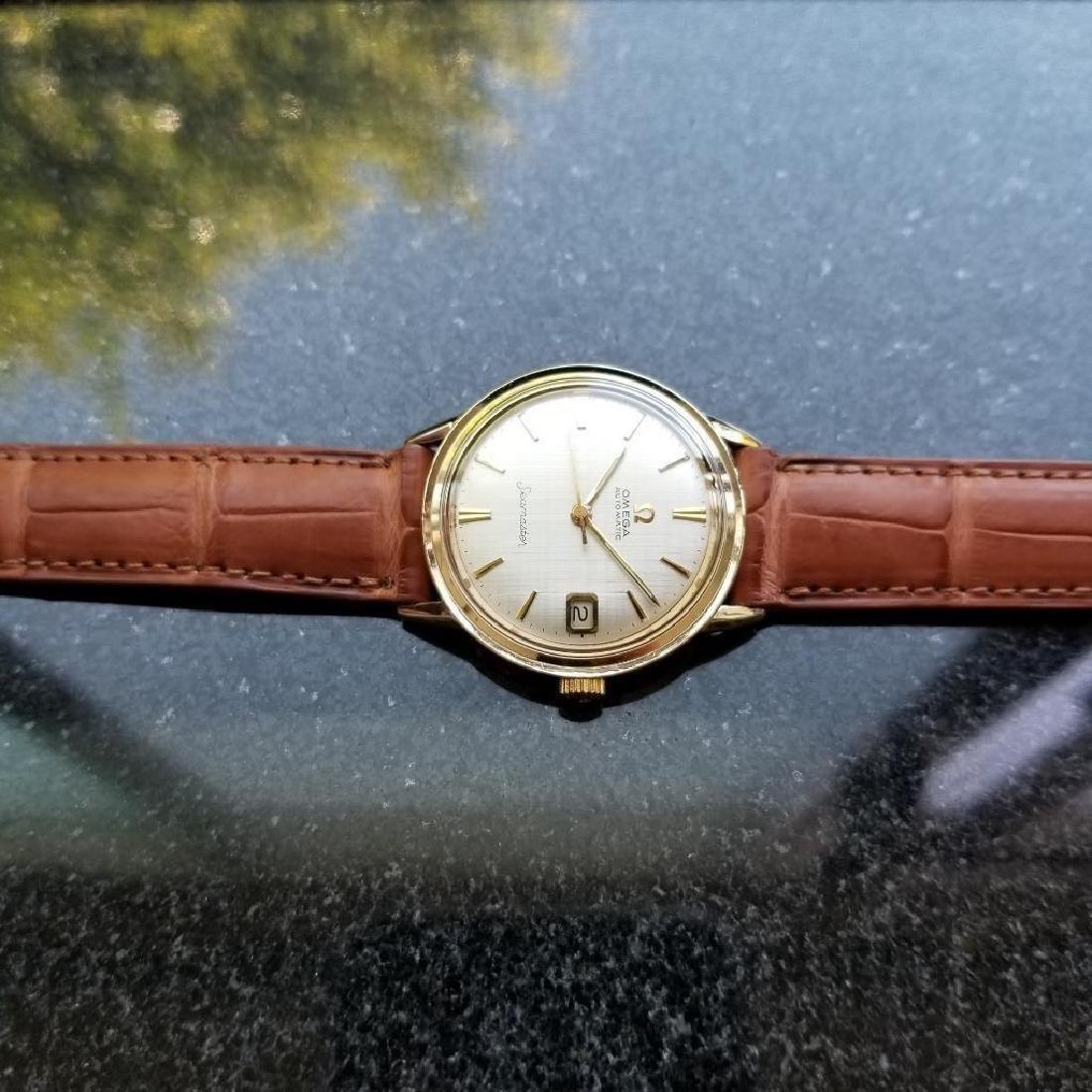 Omega Seamaster Vintage 1960s 14k Gold Filled Swiss - 5