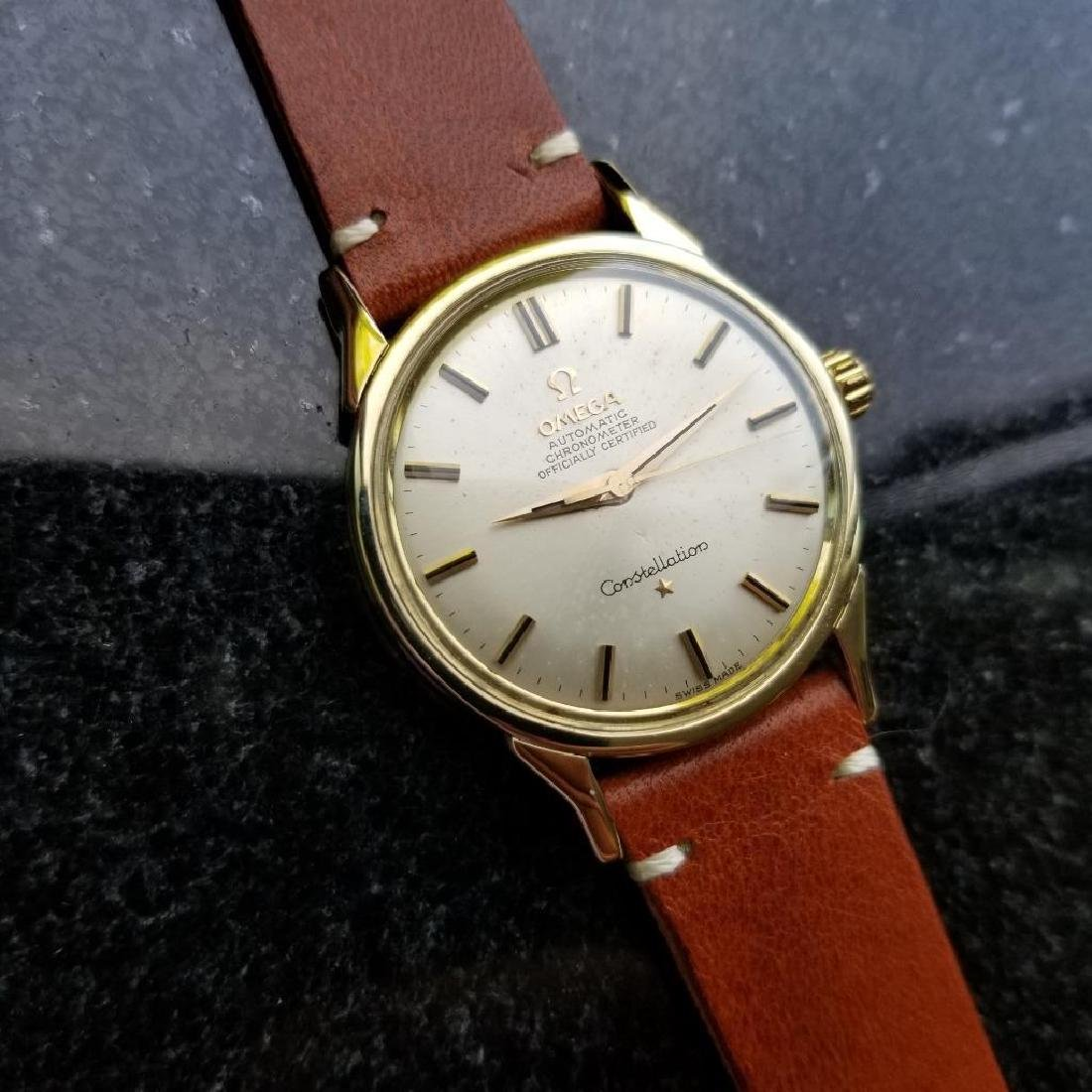 Omega Vintage Constellation Automatic 1960s Gold Cappd - 2